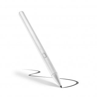 Hochpräziser, wiederaufladbarer Eingabestift für iPad, 12 Std. Akku - Weiß