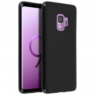 Flexible kratzfeste Schutzhülle aus Silikon für Samsung Galaxy S9 - Schwarz - Vorschau 2