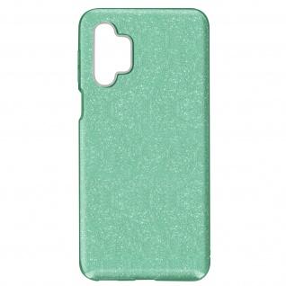 Schutzhülle, Glitter Case für Samsung Galaxy A32 â€? Grün