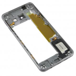 Original Samsung Galaxy A3 2016 mittlerer Gehäuserahmen - Silber