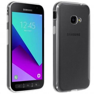 Samsung Galaxy Xcover 4 / 4S Schutzhülle Silikon ultradünn(0.30mm) ? Transparent