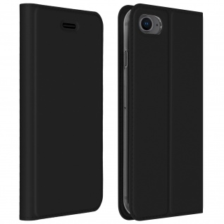 Klappetui mit Kartenfach & Standfunktion iPhone 7/8, iPhone SE 2020 ? Schwarz