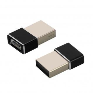 2x USB-C / USB-Stecker-Adapter von 4Smarts ? Schwarz