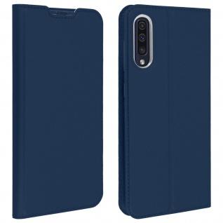 Klappetui mit Kartenfach & Standfunktion Samsung Galaxy A50 Dunkelblau