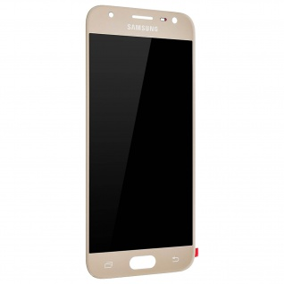 LCD Komplettset Samsung Galaxy J3 2017 + Touchscreen - Gold