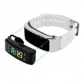 Lemonda Smartwatch, Bluetooth Headset Android und IOS, Aktivitätstracker - Weiß