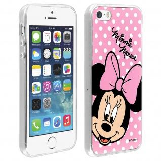 Minnie Mouse Disney Gelhülle, Silikon Hülle für Apple iPhone 5/ 5S/ SE
