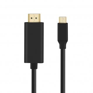 USB-C / HDMI Stecker Kabel 4K UHD Auflösung, 2m ? Schwarz