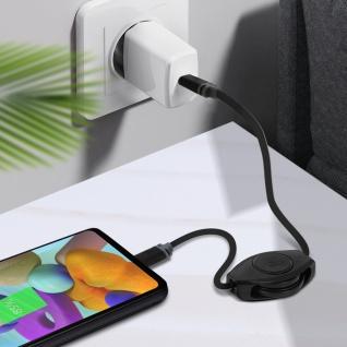 USB-C Kabel, Lade- und -Synchronisationskabel, 105 cm, Retrak - Schwarz - Vorschau 5