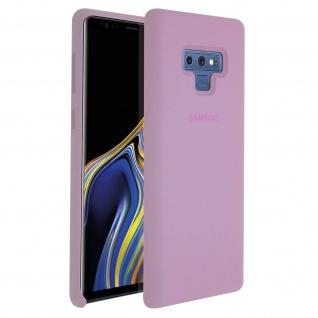 Original Samsung Soft Touch Cover aus Silikon Samsung Galaxy Note 9 - Violett