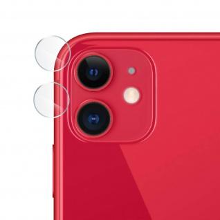 2x Rückkamera kratzfeste Schutzfolien für Apple iPhone 11 ? Transparent