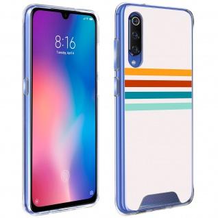 Handyhülle für Xiaomi Mi 9, Made in France ? Stripes Design