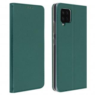 Wallet Cover für Samsung Galaxy A42 5G, Kartenfach und Ständer ? Blaugrün