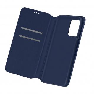 Kunstleder Cover Classic Edition für Samsung Galaxy A32 â€? Dunkelblau
