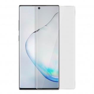 Displayschutzfolie Galaxy Note 10 Plus, UV-Licht und Flüssigkleber - Transparent