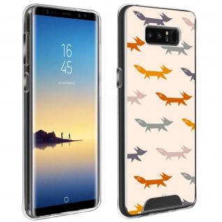 Handyhülle für Samsung Galaxy Note 8, Made in France ? Füchse Design