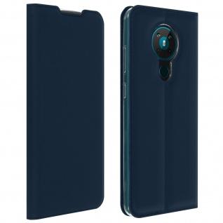 Klappetui mit Kartenfach & Standfunktion Nokia 5.3 ? Dunkelblau