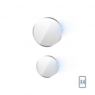 4x Rückkamera Folien, 6H Glas für Xiaomi Mi 11 5G, 3mk ? Transparent