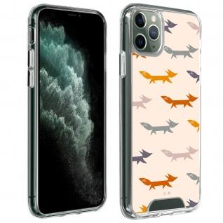 Handyhülle für iPhone 11 Pro, Made in France ? Füchse Design