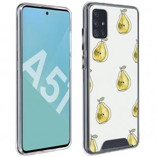 Stoßfeste Handyhülle für Samsung Galaxy A51, Made in France ? Birnen Design