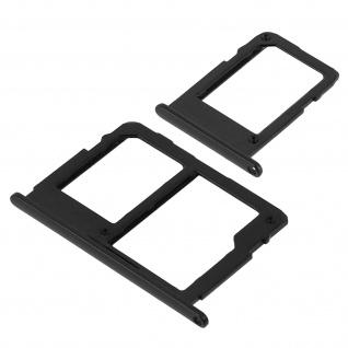 1x Nano SIM-Kartenhalter, 1x Nano SIM-/Micro-SD Kartenhalter für Galaxy J3 2017