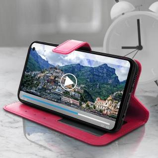 Flip Stand Cover Brieftasche & Standfunktion für Samsung Galaxy S10e - Rosa - Vorschau 4