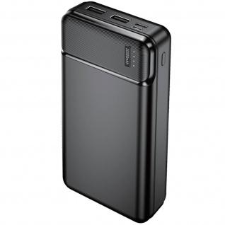 Maxlife 10.000mAh Powerbank mit 2x 2.4A USB-Anschlüssen â€? Schwarz