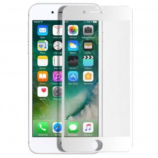 Premium Panzerglas Schutzfolie für Apple iPhone 7 / 8 / SE 2020 - Rand Weiß