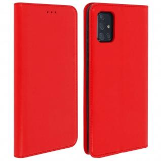 Klappetui mit Kartenfächern & Standfunktion Samsung Galaxy A71 - Rot