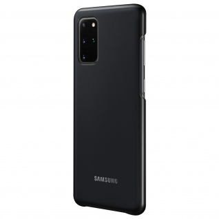 Original Samsung LED Cover, Schutzhülle für Galaxy S20 Plus - Schwarz