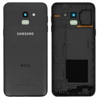 Ersatzteil Akkudeckel, neue Rückseite für Samsung Galaxy J6 (2018) ? Schwarz