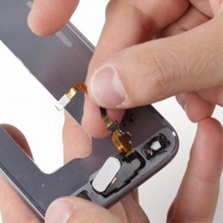 Ersatzteil Haupttaste mit Flexkabel für Samsung Galaxy S7 Edge Weiß - Vorschau 4