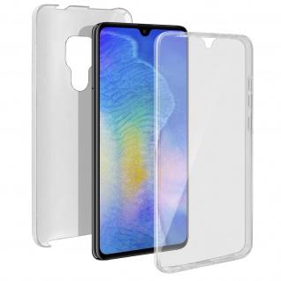 Schutzhülle für Huawei Mate 20, Vorder- + Rückseite ? Transparent