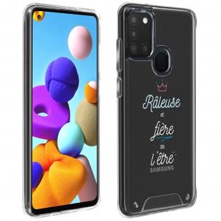 """Handyhülle für Samsung Galaxy A21s, Made in France ? """" Râleuse"""" Design"""