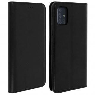 Klappetui mit Kartenfächern & Standfunktion Samsung Galaxy A71 - Schwarz