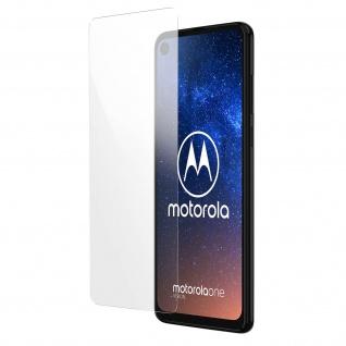 9H Härtegrad kratzfeste Displayschutzfolie Motorola One Vision - Transparent