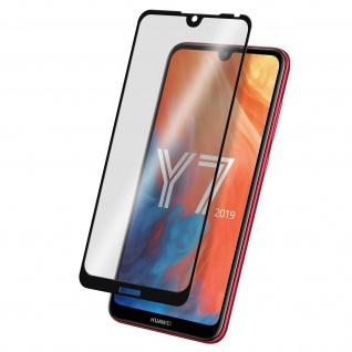 9H Härtegrad kratzfeste Glas-Displayschutzfolie für Huawei Y7 2019 - Schwarz
