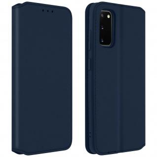 Kunstleder Cover Classic Edition Samsung Galaxy S20 - Blau