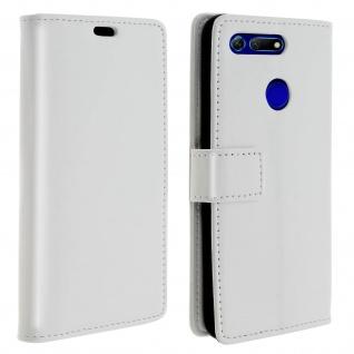 Flip Stand Cover Brieftasche & Standfunktion für Honor View 20 - Weiß