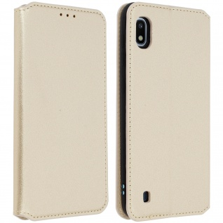 Kunstleder Cover Classic Edition Samsung Galaxy A10 - Gold