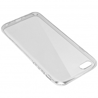 Apple iPhone 6 Plus, 6s Plus transparente Hülle + Glas-Displayschutzfolie