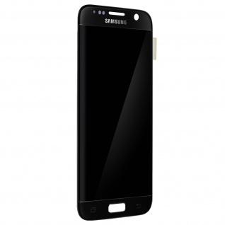 Original LCD Komplettset mit Touchscreen für Samsung Galaxy S7 - Schwarz