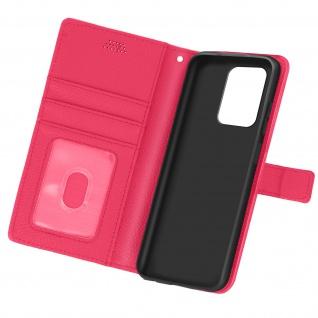 Xiaomi Redmi Note 10 5G / Poco M3 Pro Etui mit Kartenfächern ? Rosa