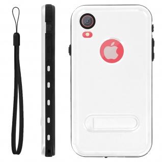 Redpepper Waterproof Handyhülle mit Ständer für Apple iPhone XR - Weiß