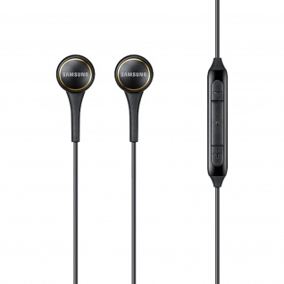 Original Samsung IG935 in-ear Kopfhörer - Fernbedienung + Mikrofon - Schwarz
