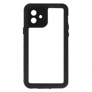 Wasserdichte IP68 Schutzhülle für Apple iPhone 12 - Transparent