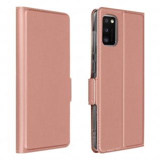 Klappetui mit Kartenfach & Standfunktion Samsung Galaxy A41 ? Rosa