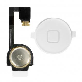 Ersatzteil Home Taste mit Flexkabel für Apple iPhone 4 Weiß