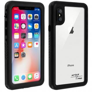 Wasserdichte IP68 Schutzhülle 2m, 4Smarts Hülle für iPhone X/XS - Transparent