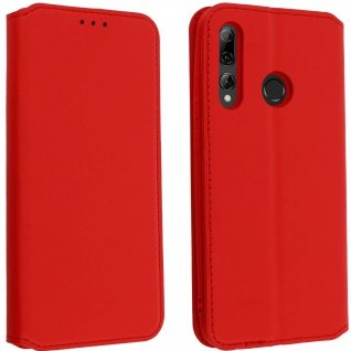 Kunstleder Cover Classic Edition Huawei P Smart plus 2019 - Rot